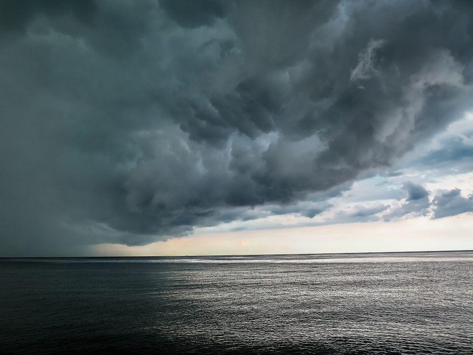 nuages océan