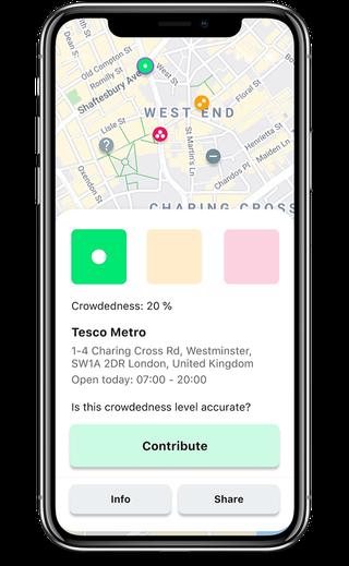 Una app de distanciamiento social para salvar vidas