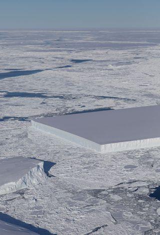Una buena rebanada de hielo en la Antártida