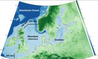 Una gran presa para el Mar del Norte: obra titánica