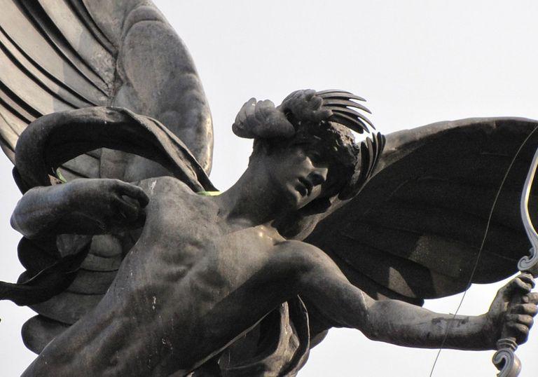 Céfiro Cupido amor