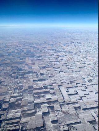 Una imagen viral de una nevada 3D