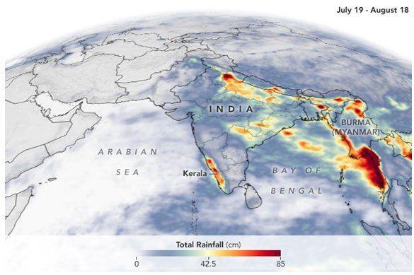 Una Inundación Del Siglo En La India