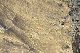 Una laguna en el desierto más seco del mundo