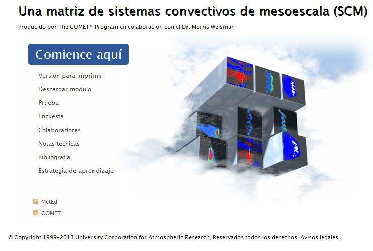Una Matriz De Sistemas Convectivos De Mesoescala (Scm)