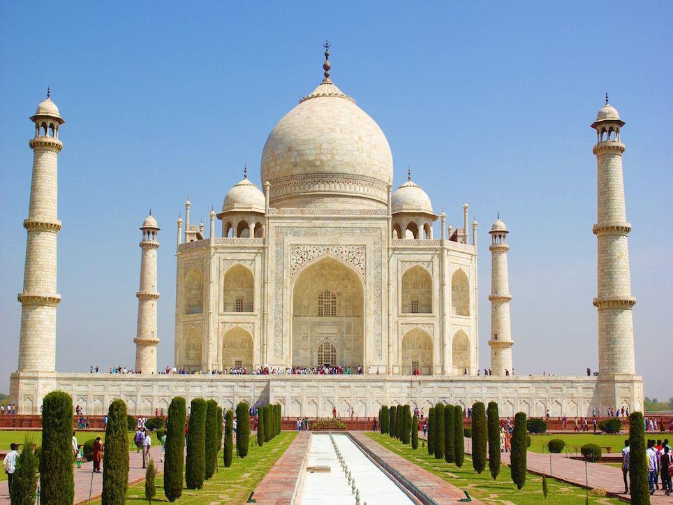 India, Taj Mahal, Nueva Delhi, residuos, vertedero, basura, waste, garbage, contaminación, pollution
