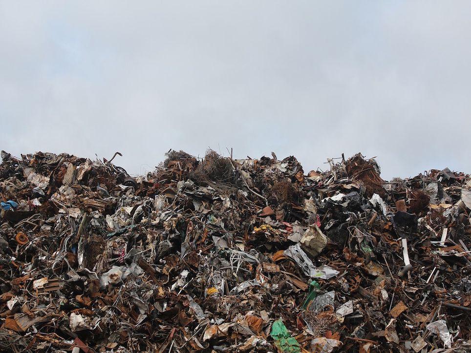 Ghazipur, vertedero, residuos, Nueva Delhi, India, Taj Mahal, waste, garbage, contaminación, pollution, medio ambiente, environment