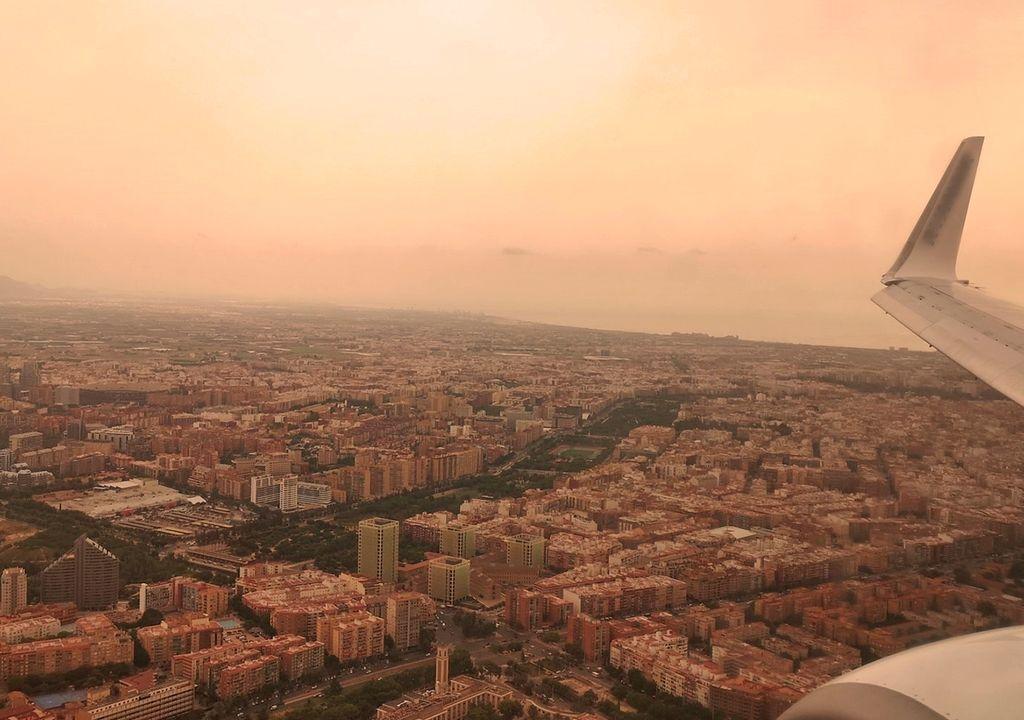 Calima in Valencia