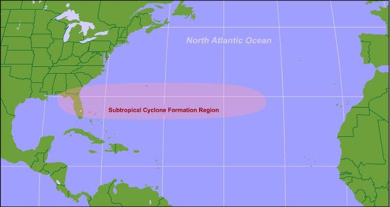 Unas Notas Sobre Ciclones Subtropicales E Híbridos. Parte Iv: Climatología