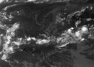 Uno de los actores en un Atlántico tropical tranquilo: la CCKW
