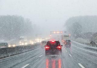 Unwetter an Muttertag - Wintereinbruch am Montag!