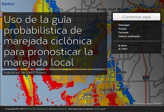 Uso de la guía probabilística de la marejada ciclónica