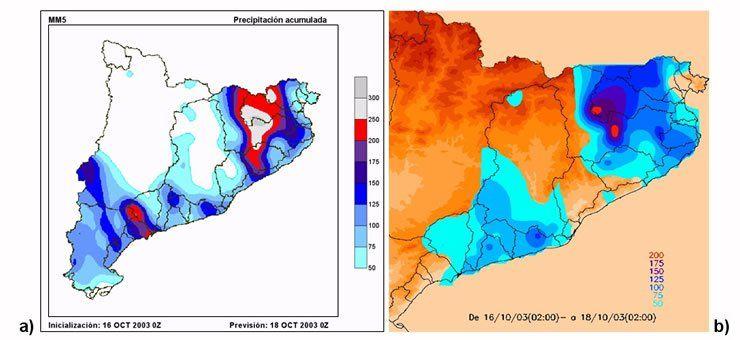Utilización Del Modelo Mm5 Para El Estudio Del Episodio De Fuertes Lluvias Y Viento De Octubre De 2003 En La Zona Del Empordá (Ne Cataluña)