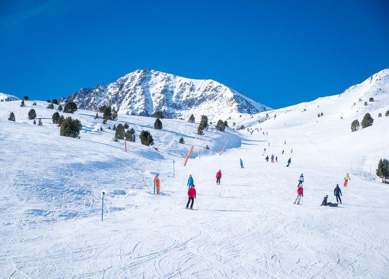Ski à Noël