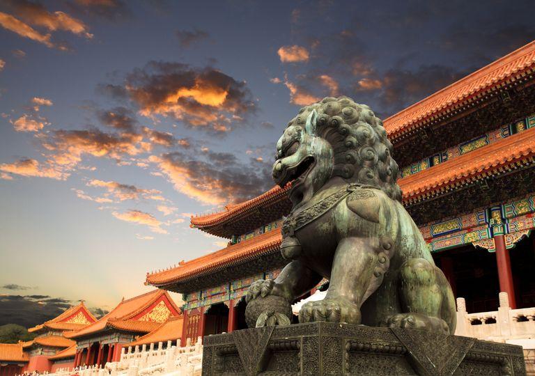 Cidade proibida, Pequim.
