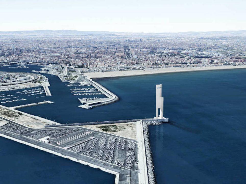 Torre Eòlica, Valencia, la Marina, energía eólica, España