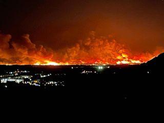 Heftig: Der größte Waldbrand seit 20 Jahren! 5000 ha verbrannt