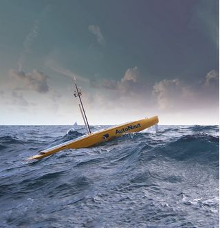 Vehículos marinos automatizados para monitorear los océanos: AutoNaut