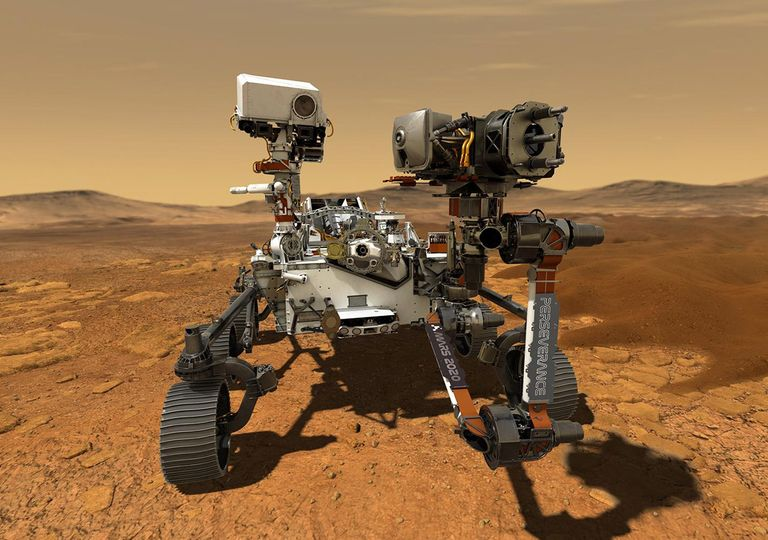 Mars 2020 Perseverance Ingenuity