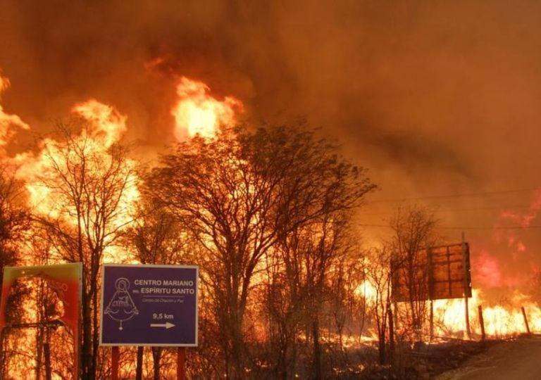 Incendios Córdoba fuego llamas
