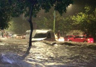 Videos del impactante temporal en la provincia argentina de Tucumán
