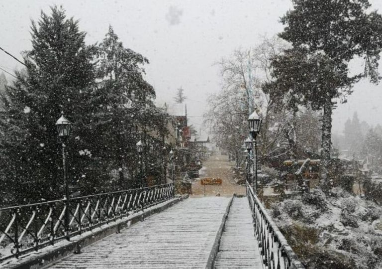 Nieve nevada La Cumbrecita