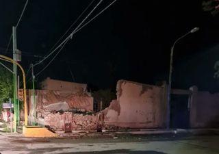 Imagens impressionantes do forte terremoto em San Juan na Argentina
