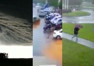 Os vídeos mais impressionantes de 2019: top 10 de tempo severo