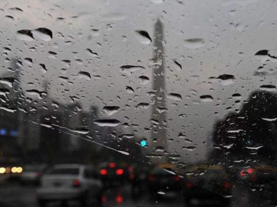 Lluvias viernes vientos ráfagas Sudestada Río de la Plata