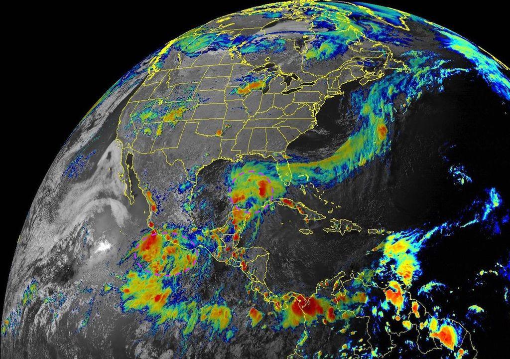 ¡Más lluvias por ciclones tropicales!