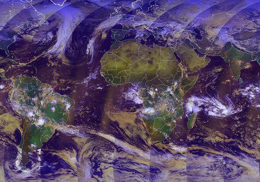 Visualizaciones de productos de orbita baja, Metop y Sentinel-3