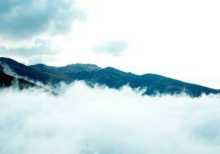 A volubilidade do nevoeiro sob efeito do Sol