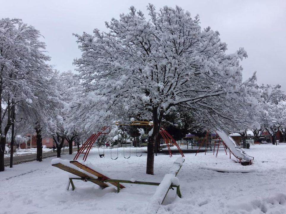 Nieve nevadas Patagonia Frío