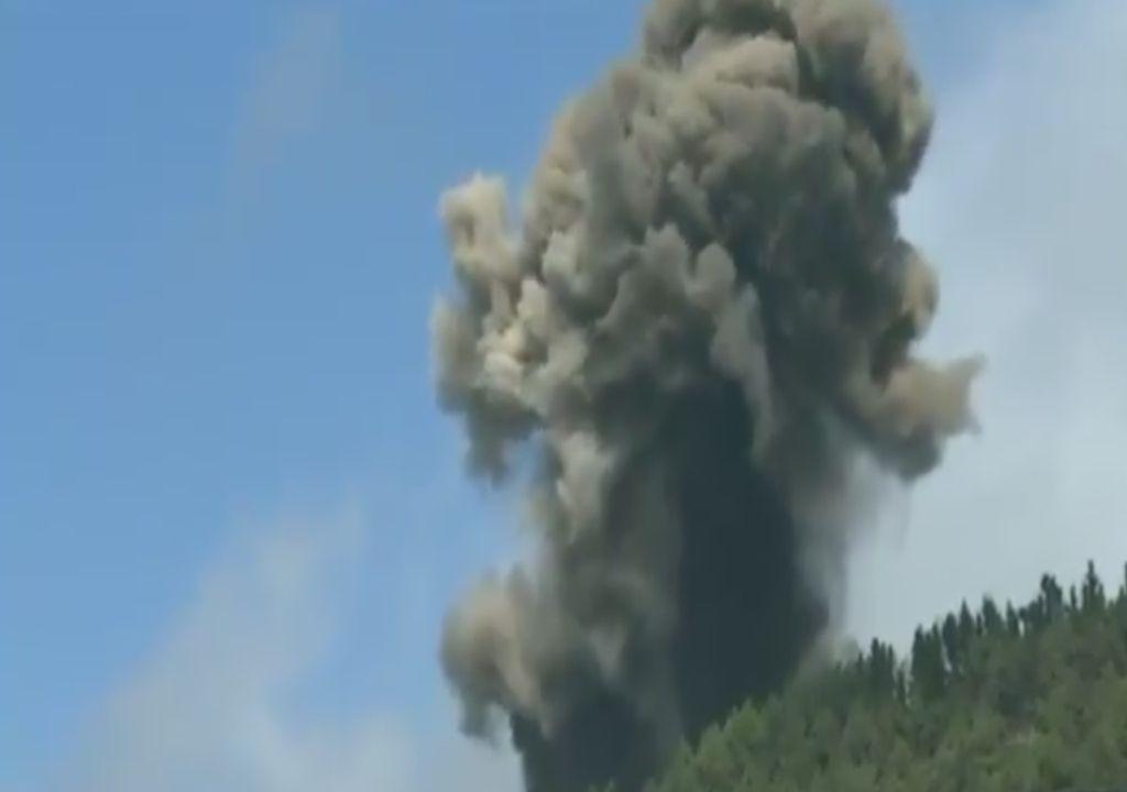 vulcão; erupção; La Palma; Cumbre Vieja, Canárias; Espanha