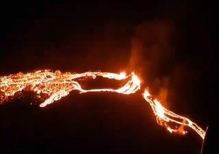 Éruption d'un volcan en Islande : des images impressionnantes !