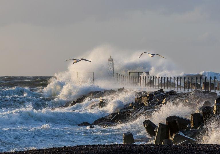 Sturm an der Nord- und Ostsee
