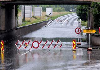 WARNUNG: Heute Unwetter durch Starkregen und Sturmböen!