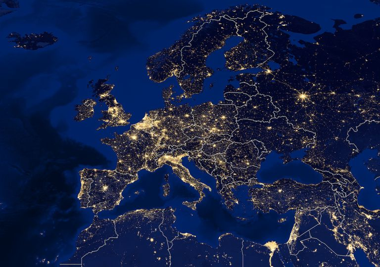 ECMWF in UK and Europe.
