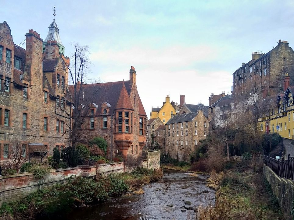 Water of Leith at Dean Village.