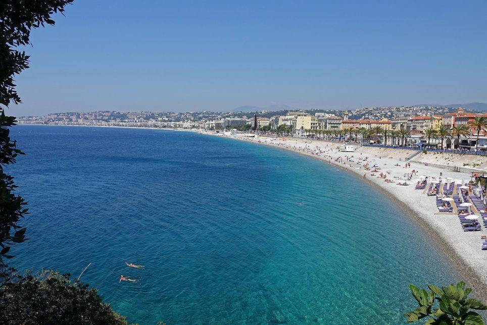 Les températures atteindront entre 29 et 30°C ce week-end à Nice.