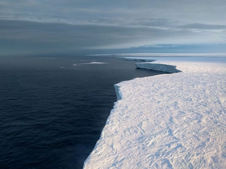 Getz ice shelf.