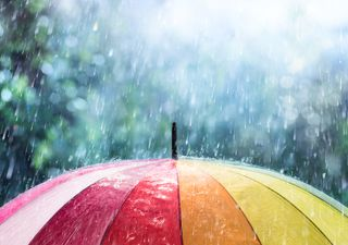 UK forecast: windy and cool with torrential downpours