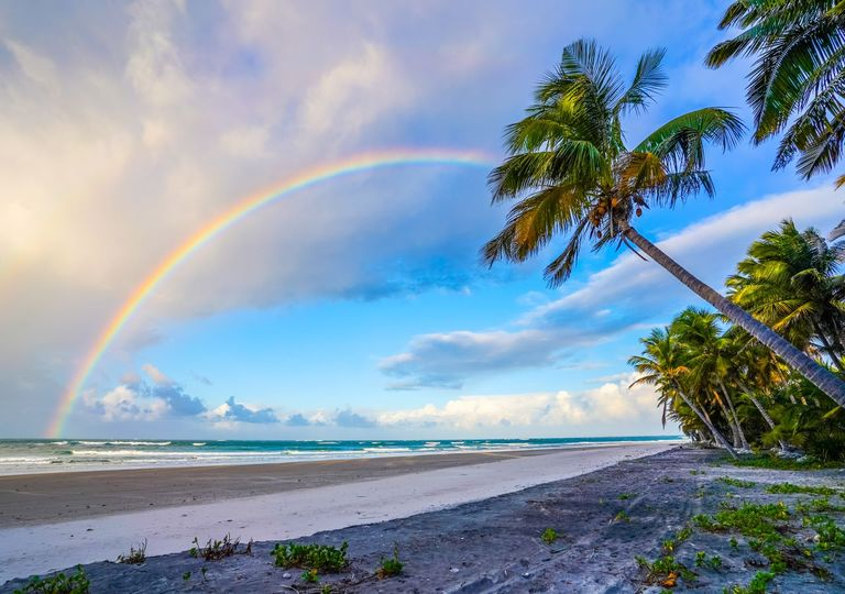 Hawaii has been dubbed the best place in the world for rainbows
