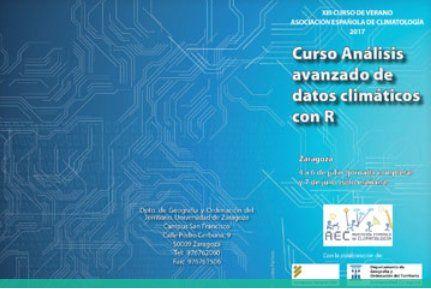 Xiii Curso De Verano De Análisis Avanzado De Datos Climáticos Con R