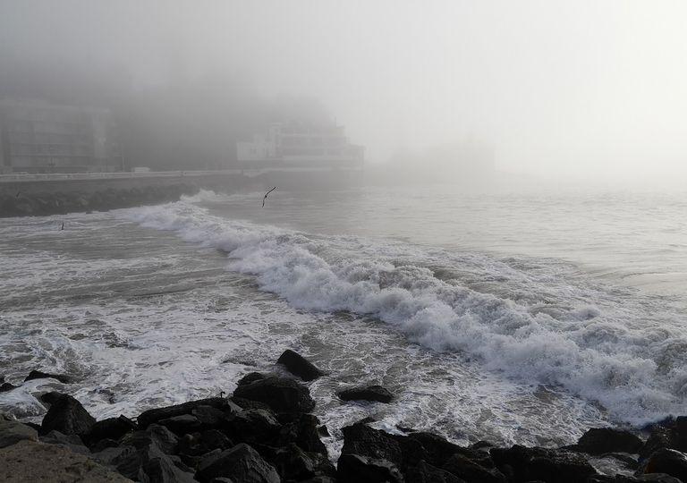 Neblina en Viña del Mar