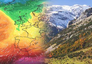 Ya llega el aire polar marítimo: las temperaturas bajarán hasta 10 ºC