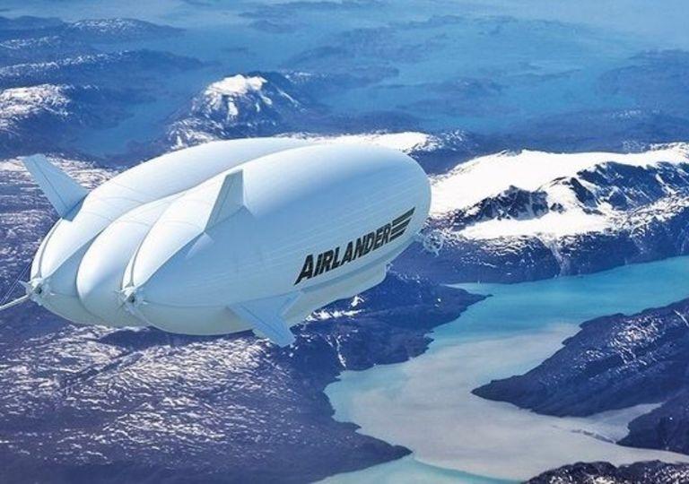 Airlander 10 zepelin dirigible