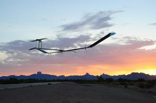 Zephyr termina sus vuelos con éxito en Arizona