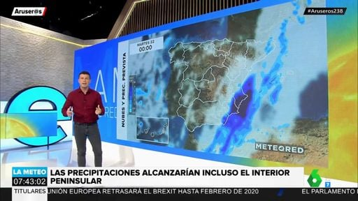 Videos and animations of Meteored in La Sexta