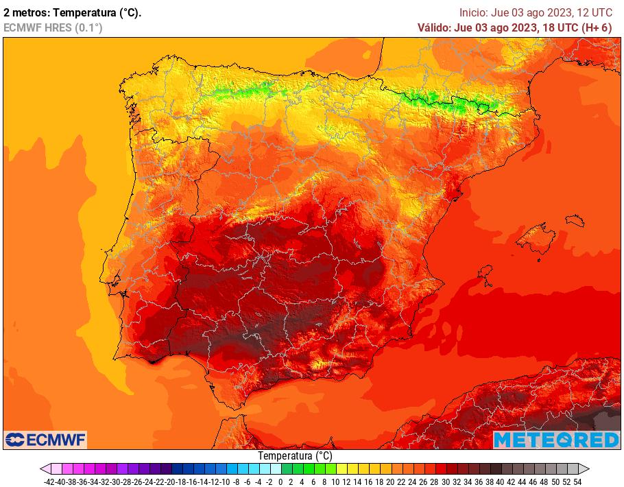 Satélites Europa :: Infrarrojo España Sat24